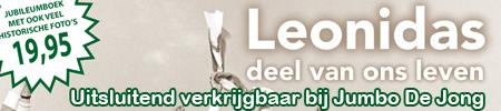 Koop het jubileumboek van Leonidas bij Jumbo De Jong!